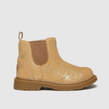 UGG Gold Bolden Metallic Girls Toddler