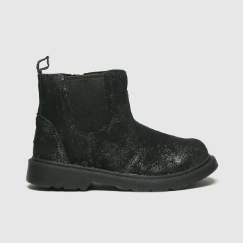 UGG Black Bolden Metallic Girls Toddler