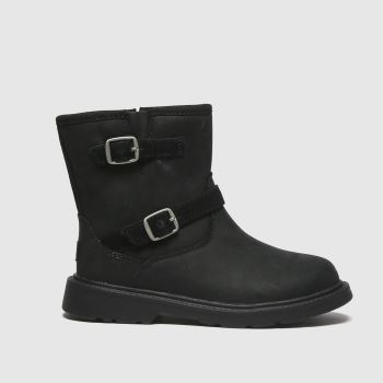 UGG Black Kinzey Girls Toddler