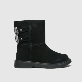 UGG Black Tillee Girls Toddler