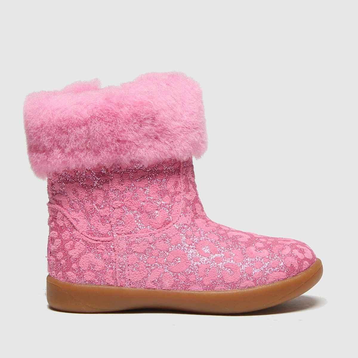 UGG Pale Pink Jorie Ii Glitter Boots Toddler