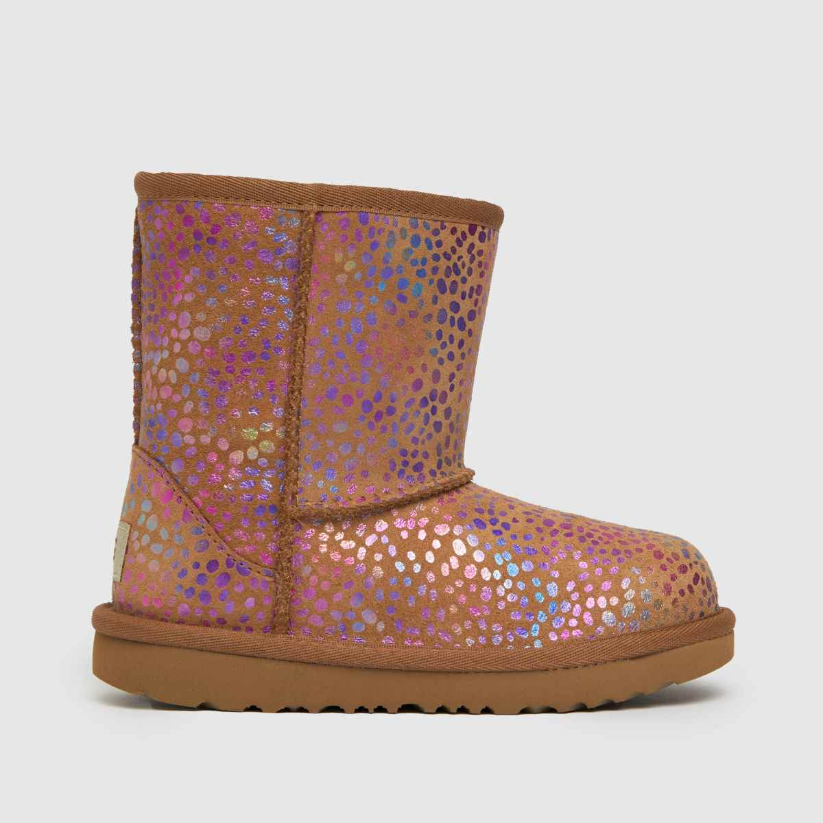 UGG Tan Classic Ii Spots Boots Toddler