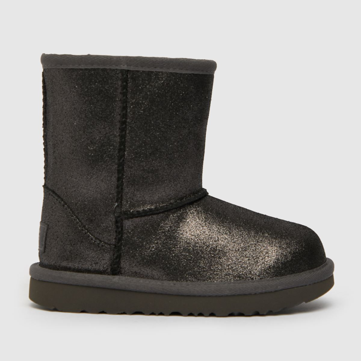 UGG Silver Classic Ii Metallic Tdlr Boots Toddler
