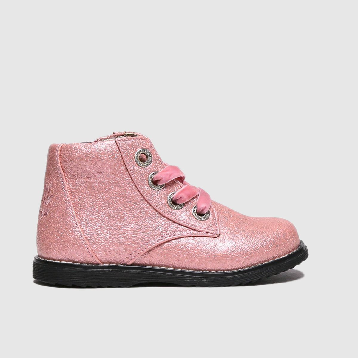 Lelli Kelly Pale Pink Sarah Boots Toddler
