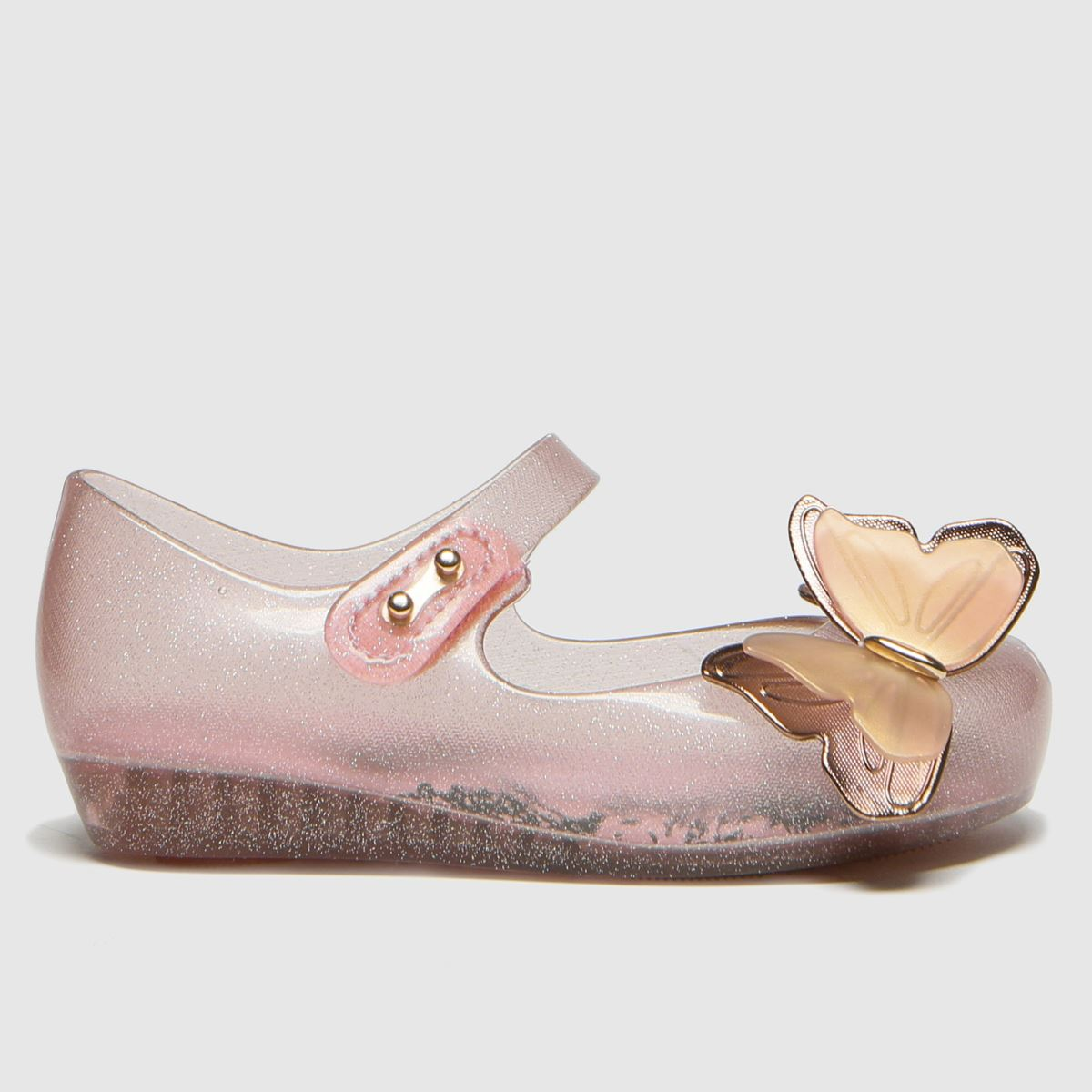 Melissa Pale Pink Ultragirl Butterfly Boots Toddler