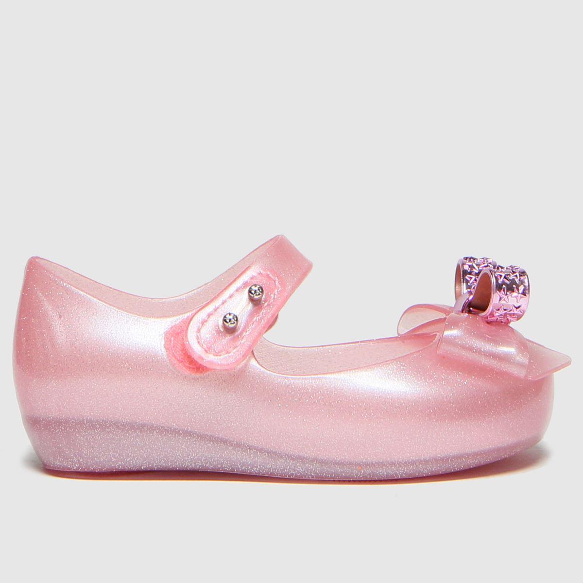 Melissa Pale Pink Ultragirl Stars Boots Toddler