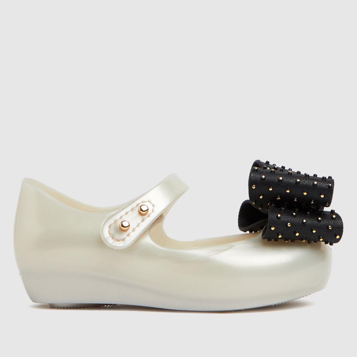 Melissa Gold Ultragirl Dot Bow Shoe Toddler
