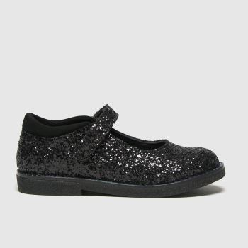 schuh Black Starlight Glitter Girls Toddler