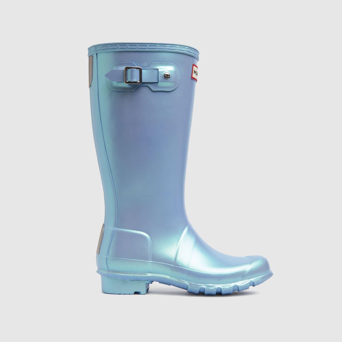 Hunter Pale Blue First Nebula Boots Junior