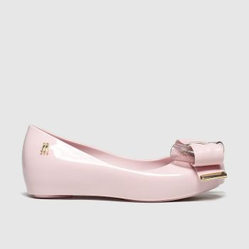 Melissa Pale Pink MELISSA ULTRAGIRL SWEET 22 Girls Junior