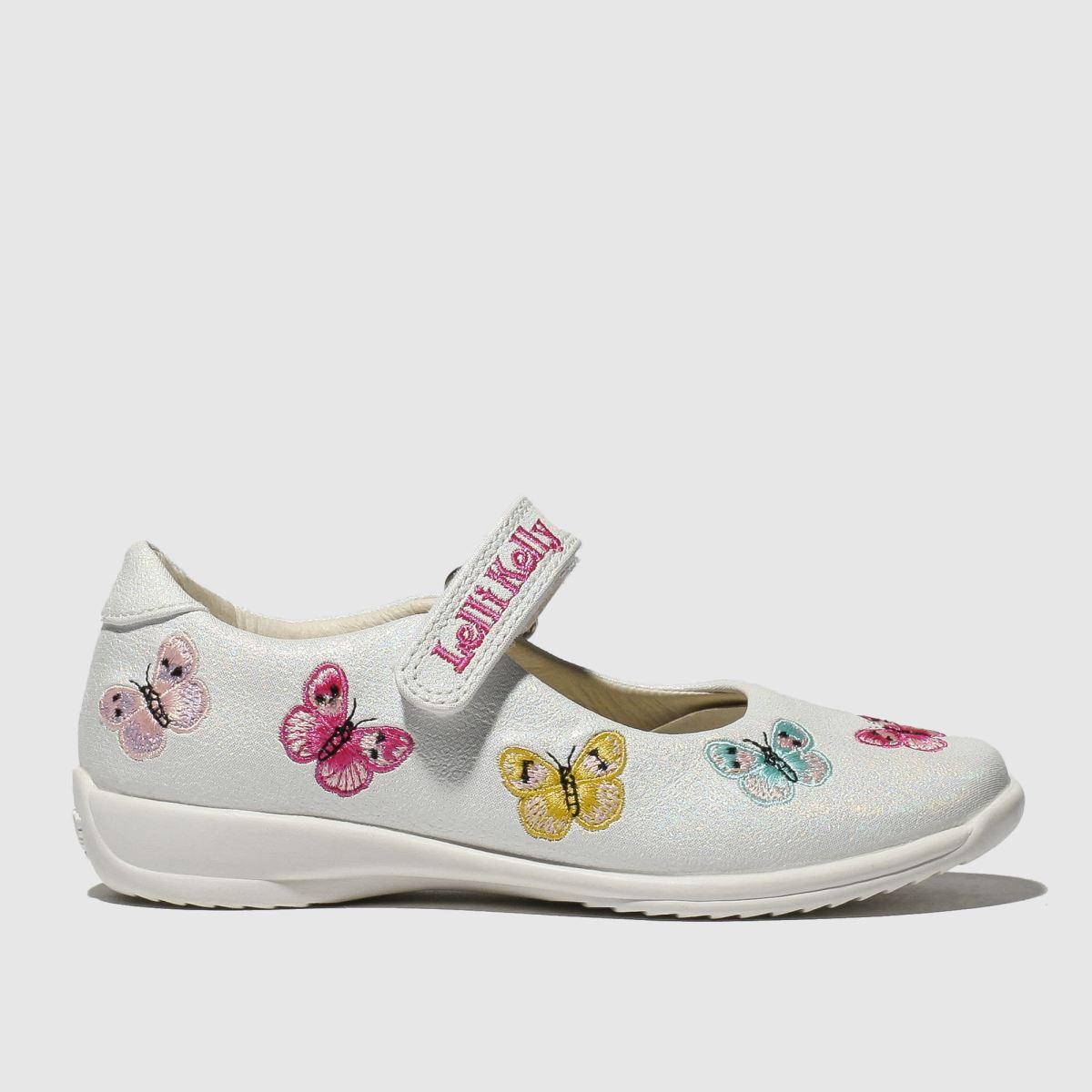 Lelli Kelly White Princess Katheryne Shoes Junior