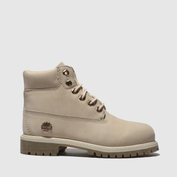 Timberland Pale Pink 6 Inch Premium Girls Junior