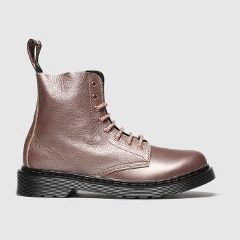 dr martens pale pink 1460 pascal boots junior