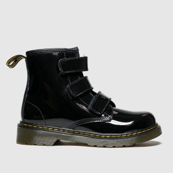 Dr Martens Black 1460 Strap Girls Junior