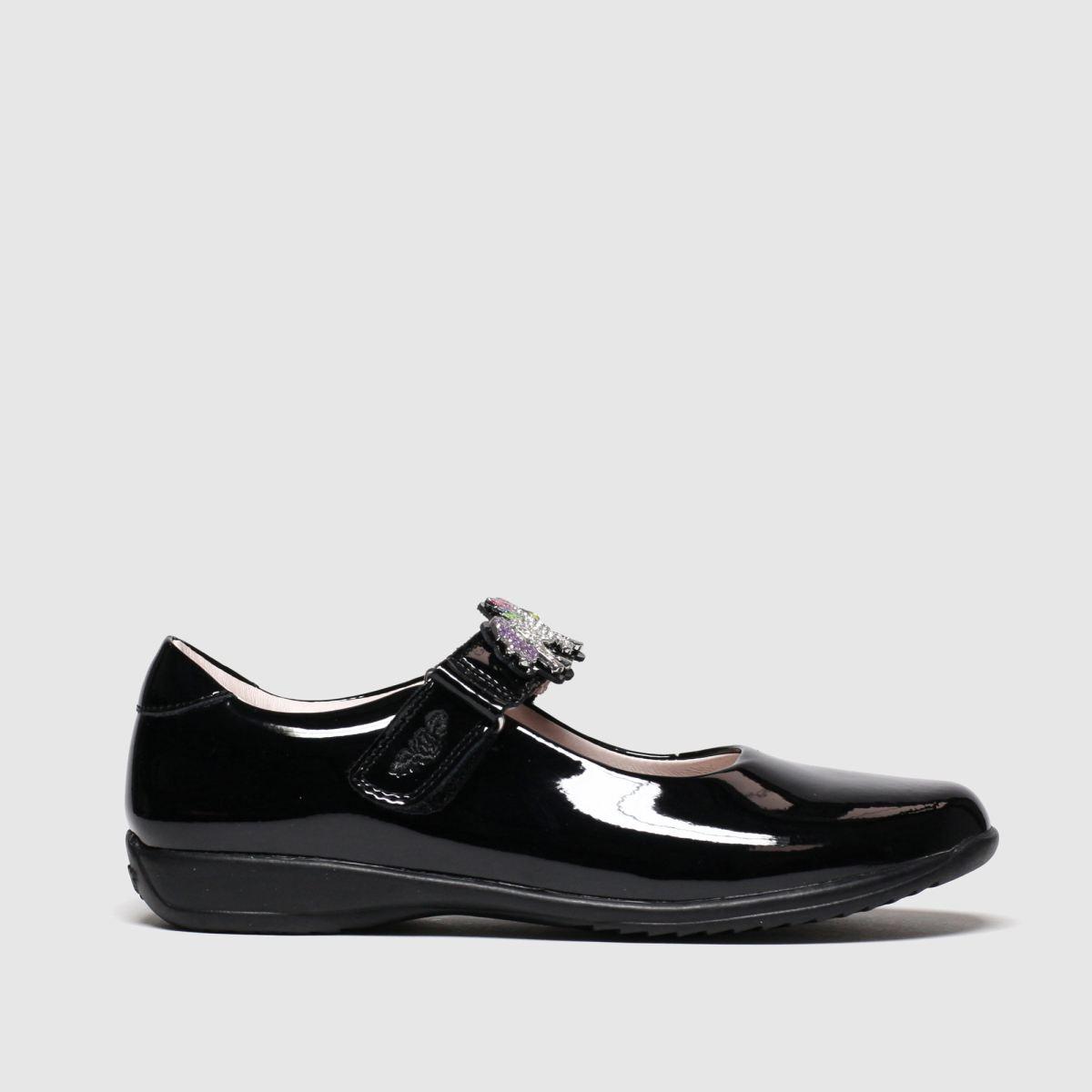 Lelli Kelly Black Blossom Unicorn Shoes Junior