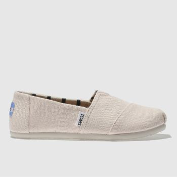 Toms Pale Pink CLASSIC Girls Junior