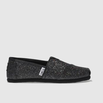 Toms Black CLASSIC Girls Junior