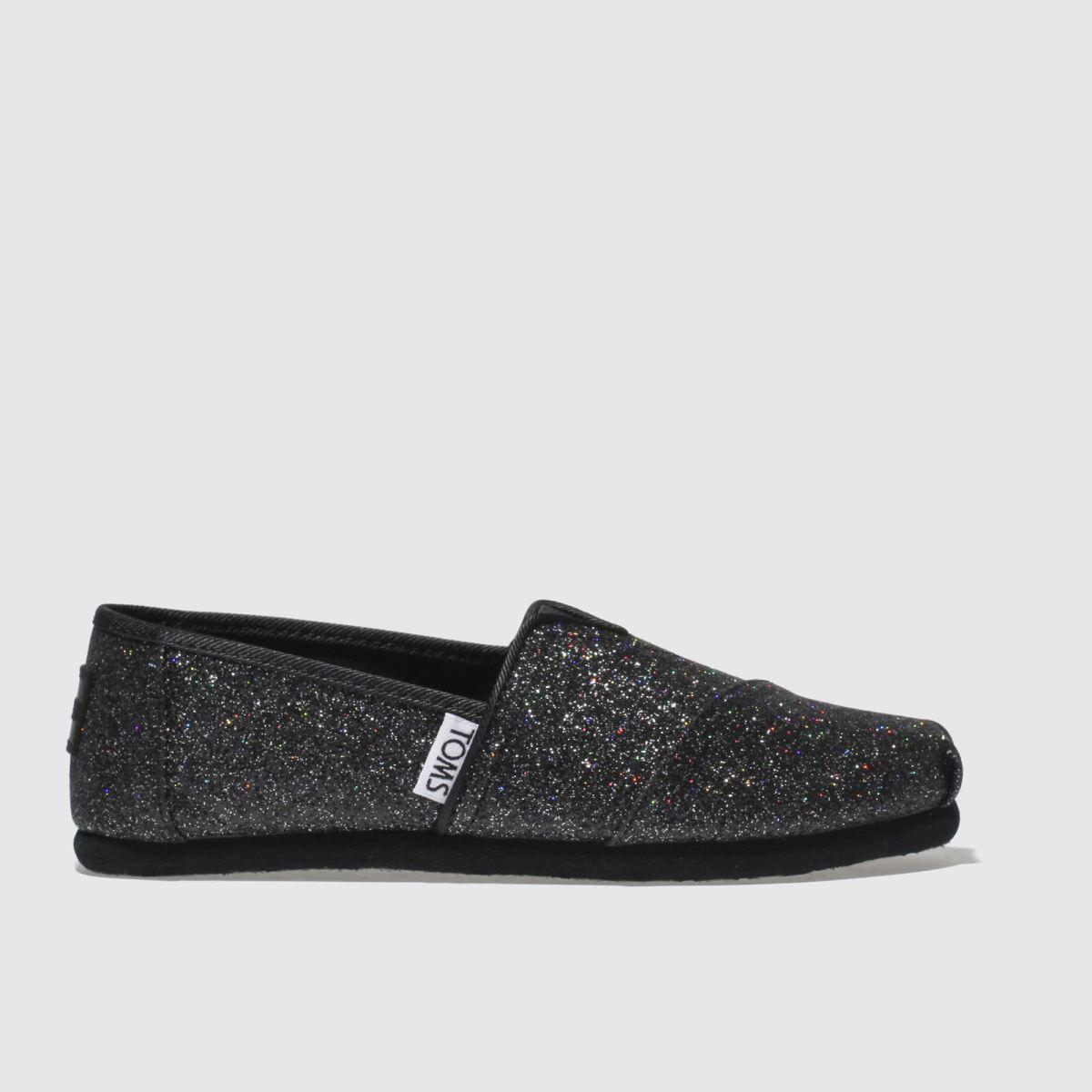 Toms Black Classic Boots Junior