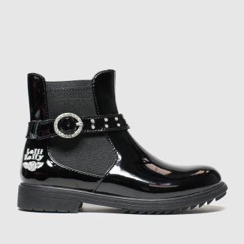 Lelli Kelly black anna boots junior