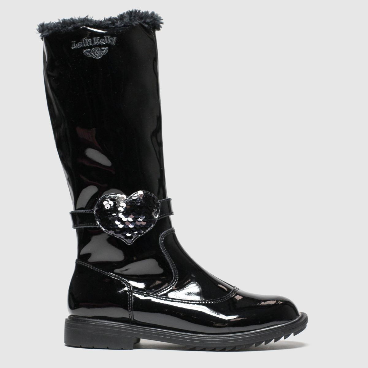 Lelli Kelly Black Greta Boots Junior