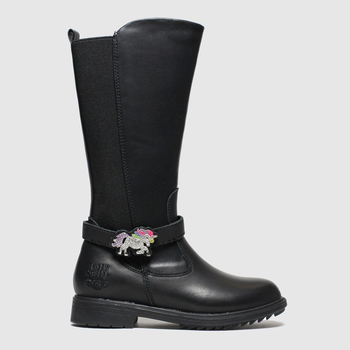 Lelli Kelly Black Marylin Boots Junior