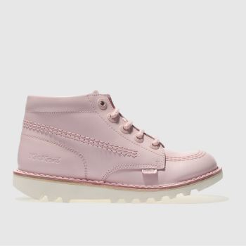 Kickers Pink Kick Hi Girls Junior