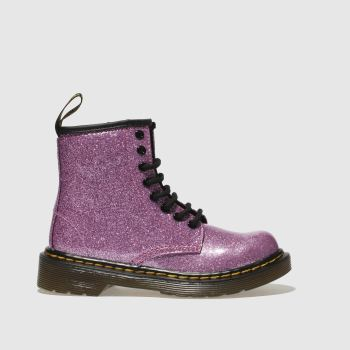 Dr Martens Pink 1460 Glitter Girls Junior