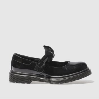 Dr Martens Black Maccy Ii Girls Junior#