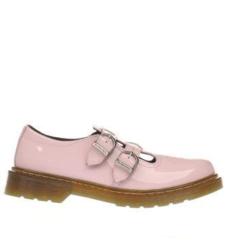 DR MARTENS PALE PINK 8065 MARY JANE GIRLS JUNIOR SHOES
