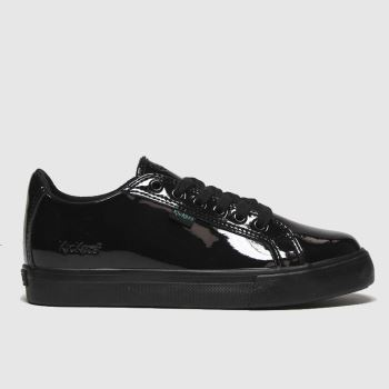 Kickers Black Tovni Lacer Girls Junior