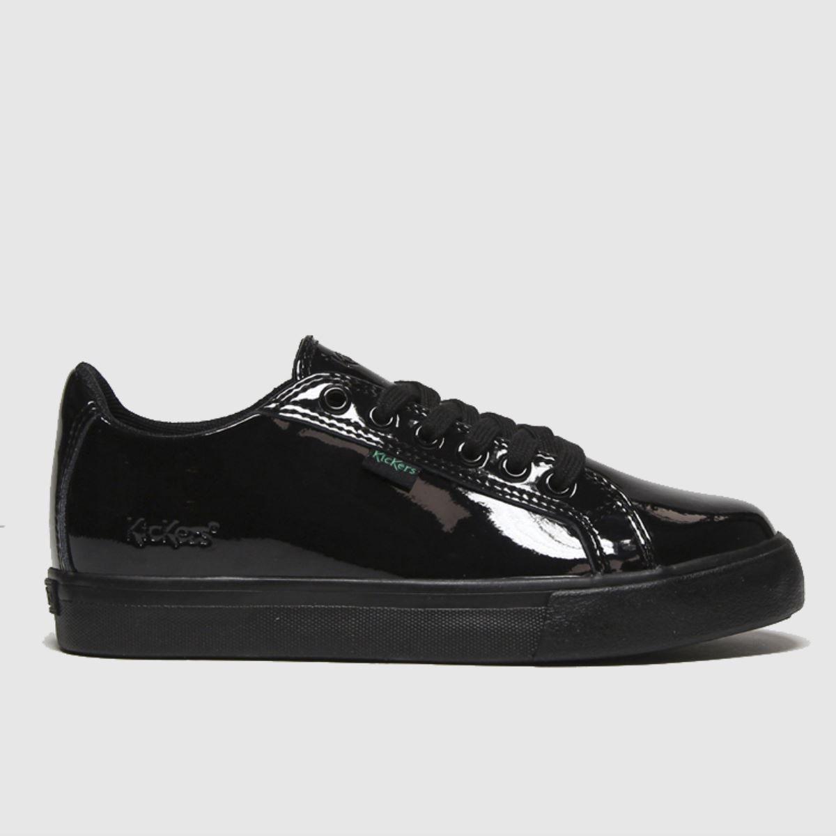 Kickers Black Tovni Lacer Boots Junior