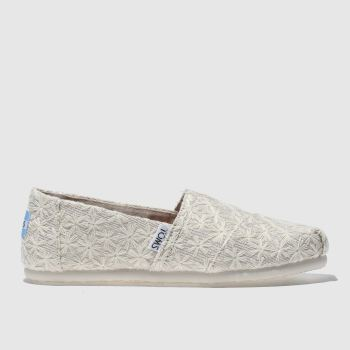 Toms Natural Classic Girls Junior