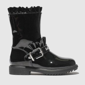 LELLI KELLY BLACK NORMA BOOTS JUNIOR