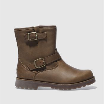 Ugg Brown Harwell Girls Junior