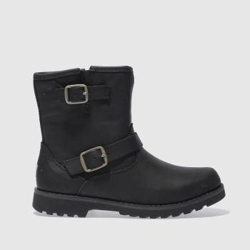Ugg Black Harwell Girls Junior