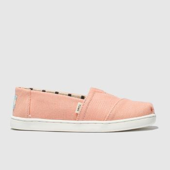 toms pink classic boots junior