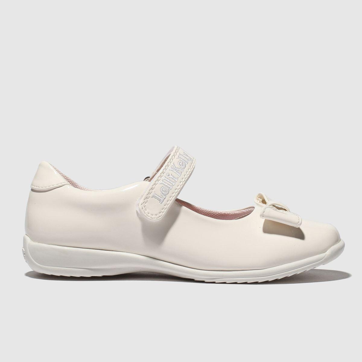 Lelli Kelly White Sarah Dolly Shoes Junior