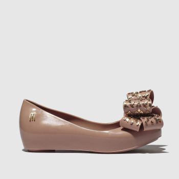 Melissa Pale Pink Ultragirl Luxe Bow Girls Junior