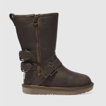 Ugg Brown Kaila Girls Junior