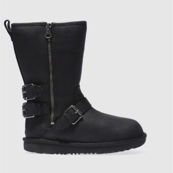 Ugg Black Kaila Girls Junior