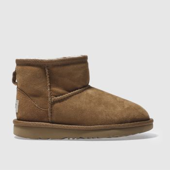 UGG TAN CLASSIC MINI II BOOTS JUNIOR