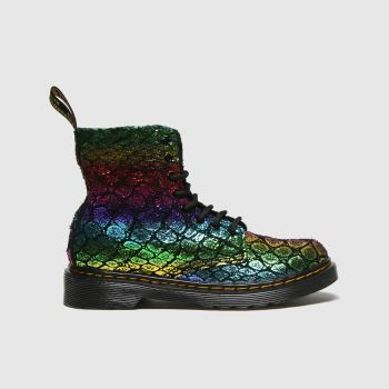 Dr Martens Multi 1460 Pascal Croc Girls Junior