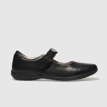 LELLI KELLY BLACK CERI DOLLY SHOES JUNIOR