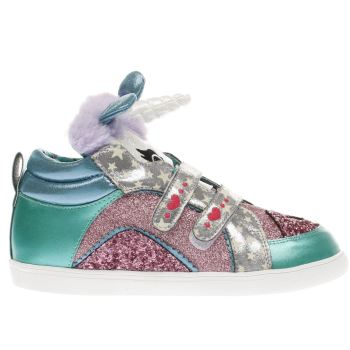 8357079e719 Girls pink   green irregular choice mini candy boots