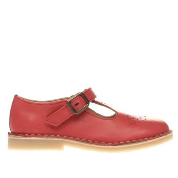 YOUNG SOLES RED PENNY GIRLS JUNIOR SHOES