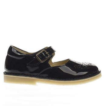 YOUNG SOLES BLACK DELILAH GIRLS JUNIOR SHOES