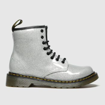 Dr Martens Silver 1460 Glitter Girls Junior