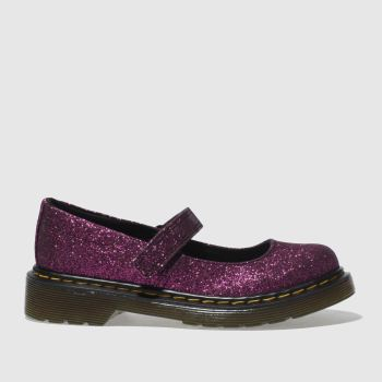 Dr Martens Purple Maccy Girls Junior