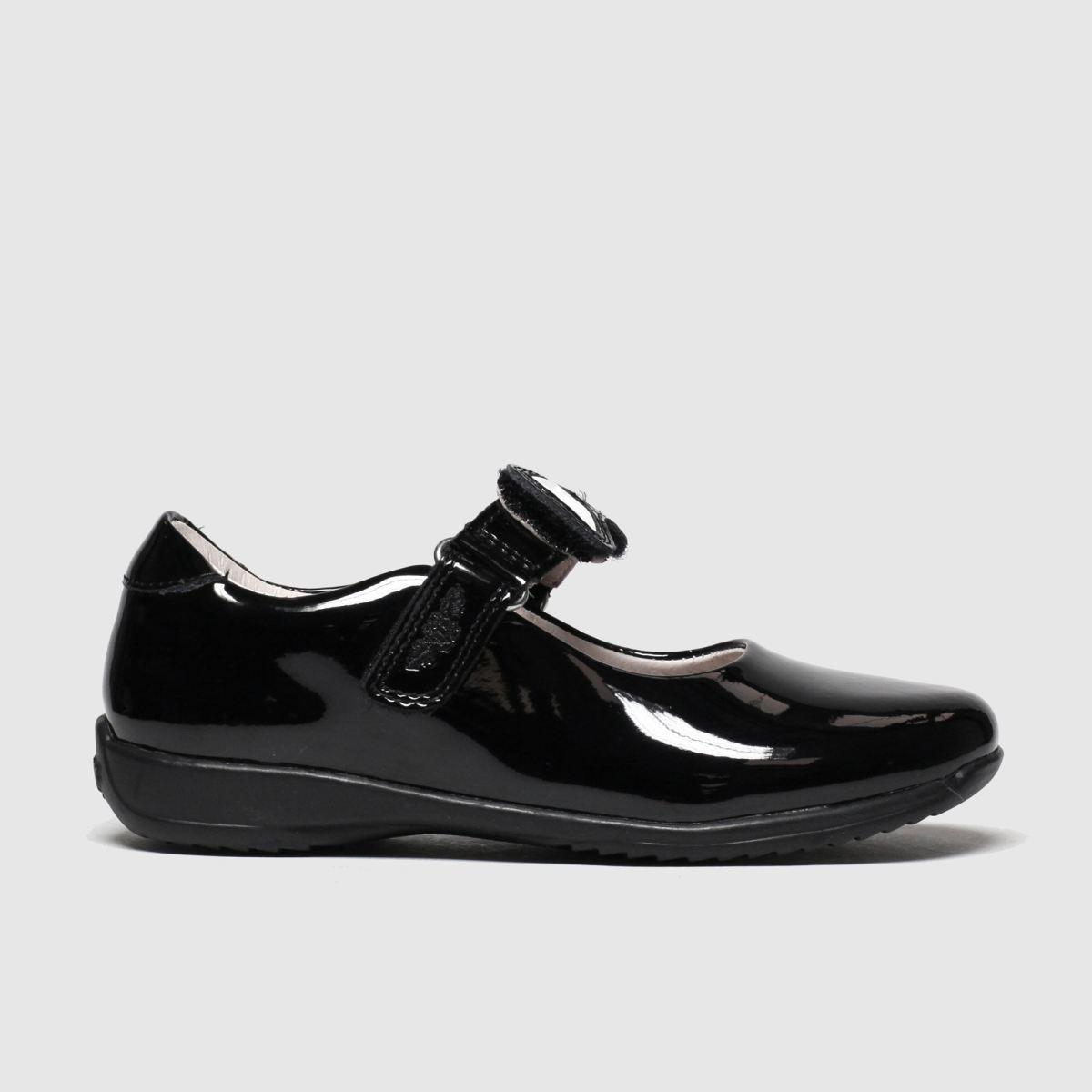 Lelli Kelly Black Colourissima Bow Shoes Junior