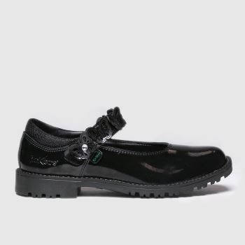 Kickers Black Lachly Butterfly Girls Junior